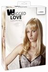 Pruik model Linda, Blond, 45 cm