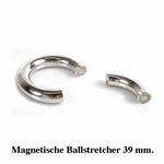 Ballstretcher, rond en magnetisch, 39 mm diameter