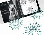Body Sierraden set - Petits Joujoux Gloria, turquoise/groen