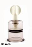 Suction cup met draaimechanisme, 38 mm
