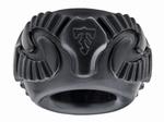 Perfect Fit Ram Ring, Cockring, zwart, per stuk